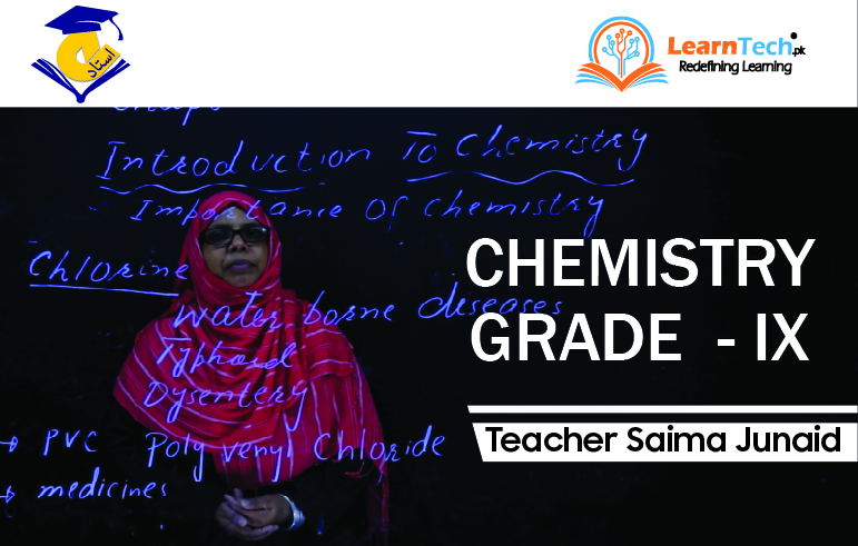 CONDENSE COURSE CHEMISTRY - I (SSC PART – I GRADE – IX OF ACADEMIC YEAR 2020 - 21)