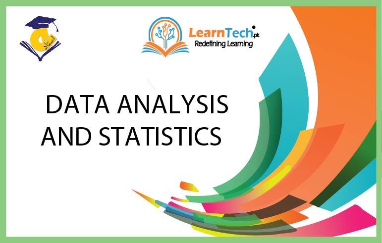 Data Analysis and Statistics